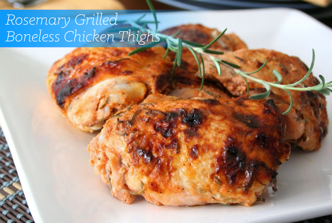 Kosher Recipes | Rosemary Grilled Boneless Chicken Thighs | Glatt Express