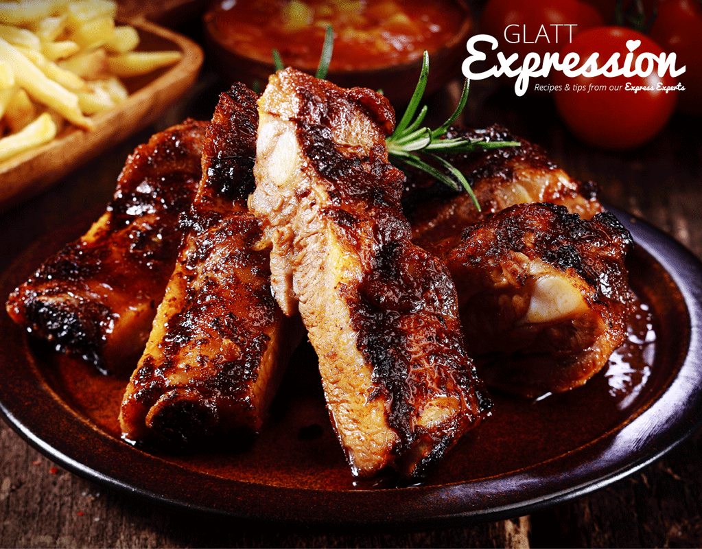 Boneless Spare Ribs with BBQ Mango Salsa | Online Kosher Groceries, Recipes and Delivery | Glatt Express